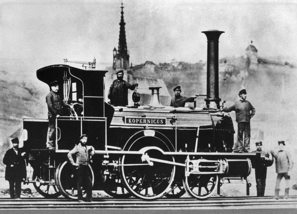 Eisenbahn Industrialisierung