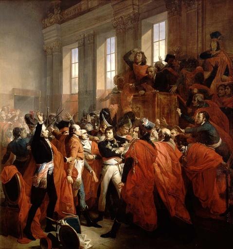 Bouchot_-_Le_general_Bonaparte_au_Conseil_des_Cinq-Cents, 1840
