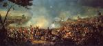 Endgültige Niederlage Napoleons bei Waterloo, Belgien 1815